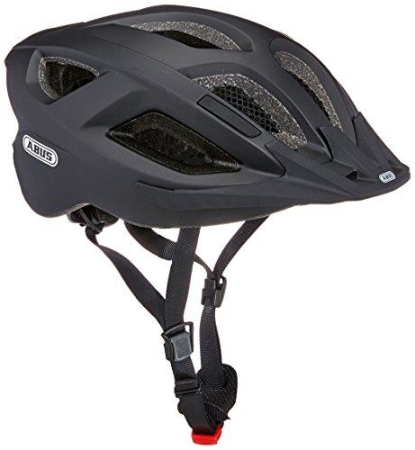 ABUS Aduro 2.0 Stadthelm - Allround-Fahrradhelm in sportivem Design für den Stadtverkehr - für Damen und Herren - 72545 - Schwarz Matt, Größe L
