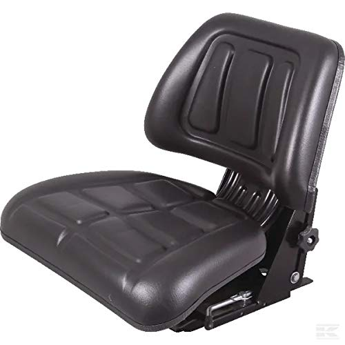 PVC-Sitz mit mechanischer Federung ohne Armlehnen, zugelassen von GOPART