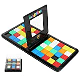 N\ A Rubik's Race,Fast Moving Strategy Tile Board Game,Head to Head Fast Paced Square Shifting Board Game Based On The,for Family, Adults and Kids Ages 7 and Up Color