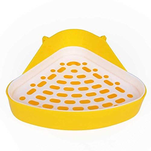 Love lamp Maisons de Toilette Chien Cavy Lapin Chiot en Plastique Potty Formation Pet Toilette Petit Animal Plateau À Litière Coin for Hamster Pig Chat Lapin Pee Litières pour Chats