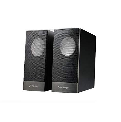 Vorago Bocinas SPK-106, 6W, 20 – 20000 Hz, 60 dB, estéreo, alámbrico, 2.0, 2x 3W, alimentación por…