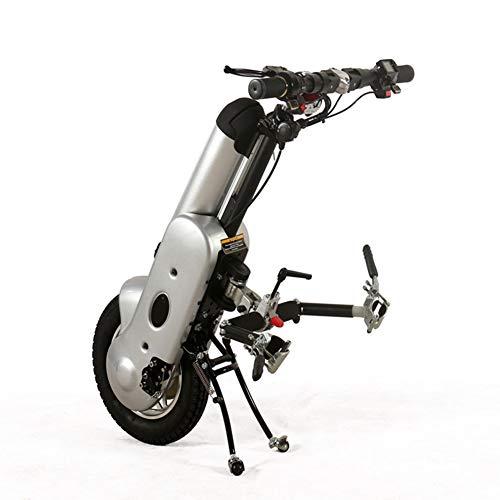 YEDENGPAO Elektro-36V 250W Rollstuhl Rollstuhl-Handcycle Anlage Mit 10.4Ah Akku Für Faltbare Stuhl Electric, Folding Leichte Elektro-Rollstuhl Für Erwachsene/Menschen Mit Behinderungen,A