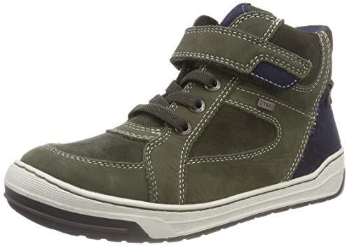 Lurchi Barney-TEX Hohe Sneaker, Grün (Dk.Olive 26), 39 EU