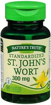 Max 60% OFF Max 40% OFF Nature's Truth Standardized St. John's mg Quick Release Wort 300