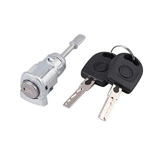 AUTOUTLET Schließzylinder Türschloss Schlüssel VORNE LINKS Für VW LUPO 6X 6E PASSAT 3B 3BG