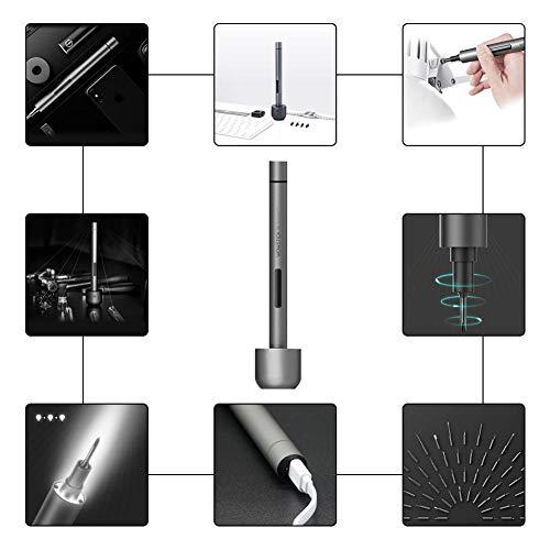 8-in-1 micro-schroevendraaier precisieschroevendraaier set 1F Pro Mini elektrische schroevendraaier draadloze reparatieset schroevendraaier voor telefoon eyeglas joystick computer telefoonschroevendraaier iPhone 7