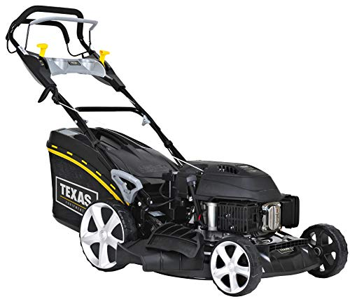 Texas Tondeuse Thermique tractée 173 CC 4,4cv démarrage électrique 51cm Coupe Mulching Razor 5160TR/WE