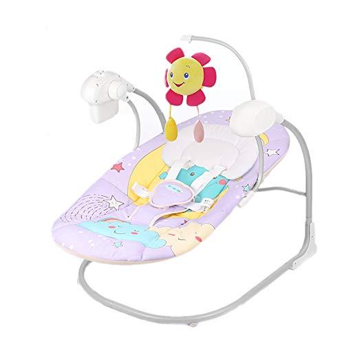 Las bouncers infantiles eléctricas balancean la balancín plegable de la silla de...