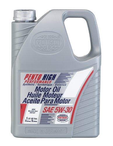 Pentosin 8043206-C Pento High Performance 5W-30 Synthetic Motor Oil - 5 Liter (Case of 3)