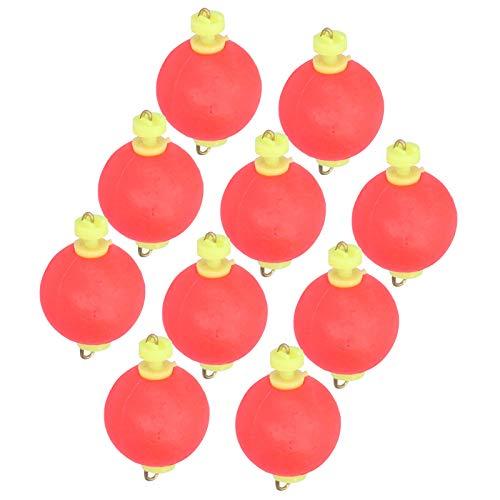 Bóia de pesca Bobbers, Pesca Spring Float Multi-Purpose Float Balls Indicador de espuma de pesca para inverno ao ar livre(small)