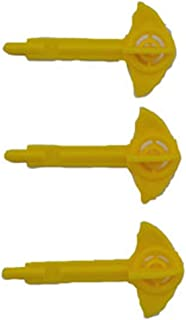Fisher Price Imaginext Super Friends Batman Batcave Replacement 3 Projectiles (Random Colors)