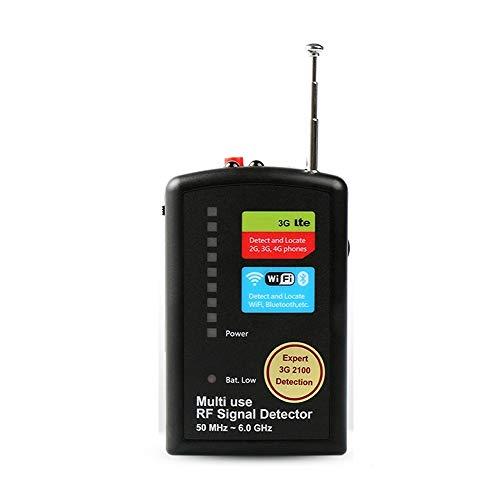 youyu6-2o521 Equipo de detección GPS Detector Anti-Eavesdropping Teléfono móvil Cámara Anti-Sneak Equipo Anti-monitoreo Detector de posicionamiento de GPS inalámbrico Detector de Radar para vehículos