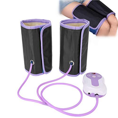 Appareil de massage des jambes, appareil de massage des pieds, compresseurs d'air, gousset de jambe électrique avec 9 modes pour les bras, les pieds, le corps (prise UE)