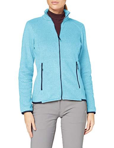 Lafuma Techfleece F-Zip W Fleece Jacket, Womens, Maldives Blue, S