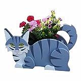 Maceteros de Madera para Animales - Maceta de Dibujos Animados para decoración de...