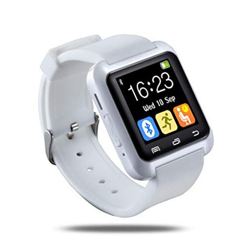 U8 Moda Bluetooth Reloj Inteligente para Samsung HTC LG Xiaomi Android Teléfono Smartphones - Blanco
