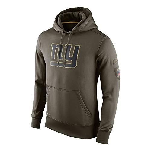 PUHONG NFL New York Giants Hoodie Sweatshirts American Football Hooded Sweatshirt Pullover Men and Women Long Sleeve Sport Clothing