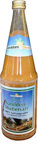 Rügener Sanddorn Muttersaft 1l, 100% Direktsaft
