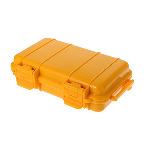 yaonow extérieur Plastique étanche résistant aux Chocs Boîte hermétique de Survie Coque Conteneur de Stockage boîte de Transport, LY, Taille Unique