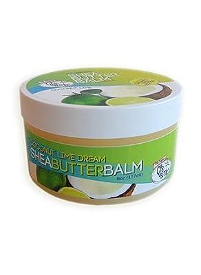The Original CJ's BUTTer® All Natural Shea Butter Balm - Coconut Lime Dream, 6 oz. Pot