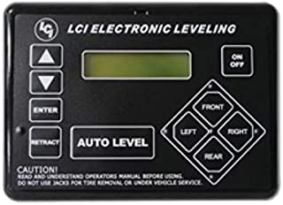 Lippert Components 421484 Black Ground Control TT Leveling Touchpad