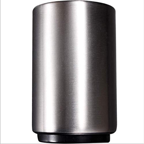 SH Bier flesopener flesopener roestvrijstalen magneet automatische bierflesopener Catcher Cap met magnetische dop en geen dop kan ontsnappen (2 pakjes)
