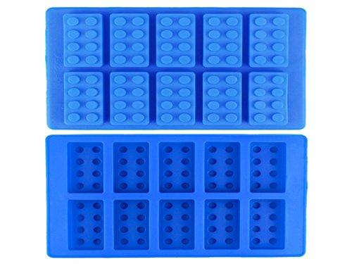 LEGO Brique de Forme Ice Cube Bonbons Chocolat Moule en silicone Plateau Réfrigérateur Congélateur UK