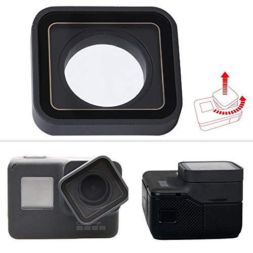 Beschermende lensvervanging voor GoPro, vervangende lenskap voor Gopro Hero 5 Hero 6 Hero 7 Zwarte camera-accessoires
