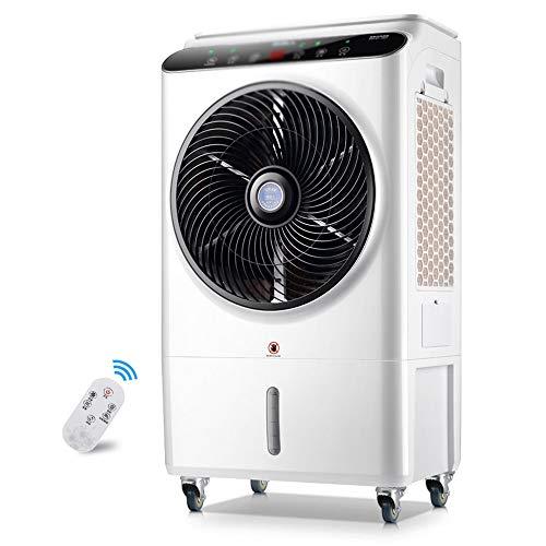Axdwfd Industriële mistkoeler, draagbaar, afstandsbediening voor airconditioning, voor de particuliere en commerciële industrie • watertank 48 l • 105 W
