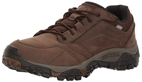 Merrell Men's Moab Adventure Lace Waterproof Hiking Shoe, Dark Earth, 12 M US