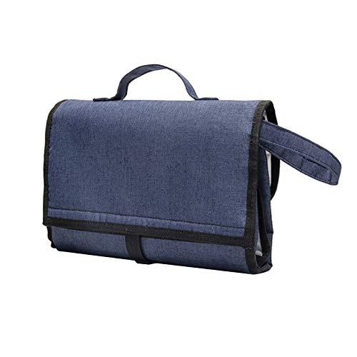 Cojín cambiador portátil del bebé, bolso impermeable del pañal, bolso de la mamá de la estera del viaje Accesorios del bebé