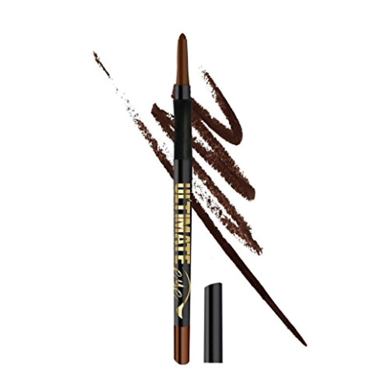 告発者どれ処方する(3 Pack) L.A. GIRL Ultimate Auto Eyeliner - Lasting Brown (並行輸入品)