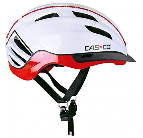 Casco Erwachsene Fahrradhelm Speedster, Weiß/Rot, M