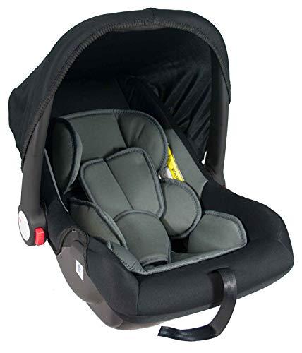 Babyschale United-Kids Babys Dream Gruppe 0+ 0-13 kg Schwarz-Grau