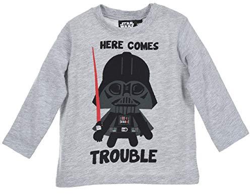 Star Wars bebé-niños Camiseta de Manga Larga