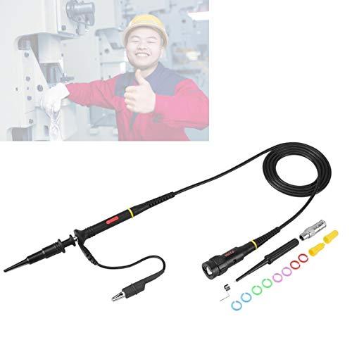 Oszilloskop Sonde, 1St 200MHz Oscilloscope Probe Oszilloskop Oszilloskop Prüfspitzen Clip BNC P2200 X 10/X1 Schwarz 200Mhz