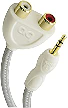 AudioQuest adapter - 3.5 mm mini plug to 2 RCA female (Discontinued by Manufacturer)