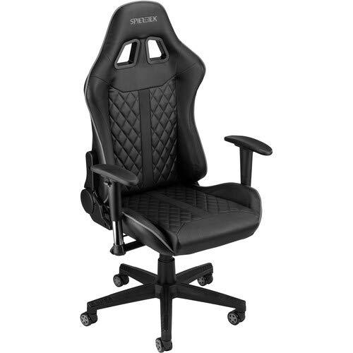 Spieltek 100 Series Gaming Chair (Black & Gray)