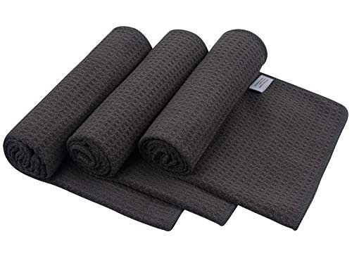 SUNLAND Microfiber Sports Workout Towels Fast Drying Fitness Sweat Towels for Men & Women Lightweight Multi-Purpose Gym Exercise Towels 3 Pack 16Inch x 32Inch