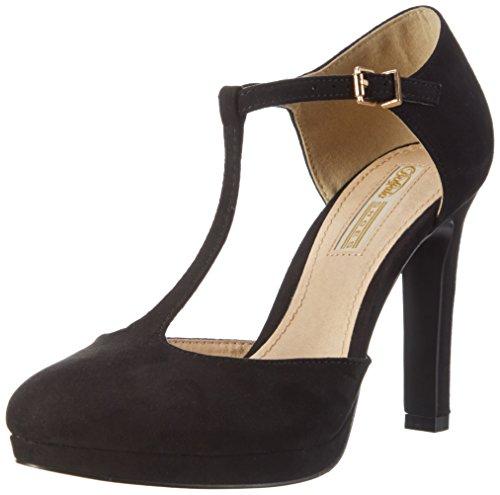 Buffalo Shoes Damen H748A-3 Pumps, Schwarz (Black 01), 38 EU