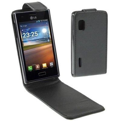 YUCPING Erecto Flick Funda For LG Optimus L5 Funda para teléfono móvil