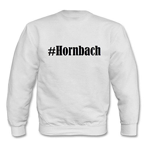 Reifen-Markt Sweatshirt Damen #Hornbach Größe M Farbe Weiss Druck Schwarz