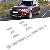 【𝐏𝐫𝐨𝐦𝐨𝐜𝐢ó𝐧 𝐝𝐞 𝐒𝐞𝐦𝐚𝐧𝐚 𝐒𝐚𝐧𝐭𝐚】Pegatina para Interruptor de Volumen, Resistente botón de Aire Acondicionado, para Range Rover Sport 2014-2017 Taller de reparación de automóviles Pieza