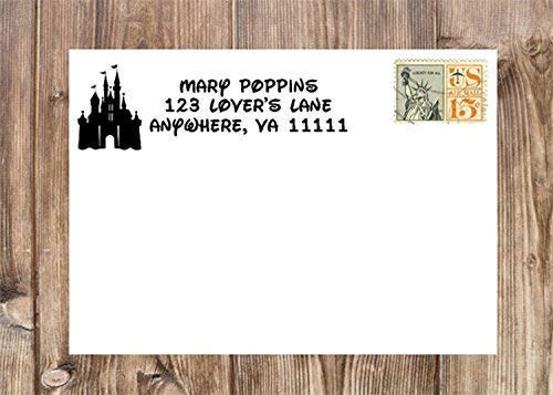 Personalized 67% OFF of fixed price Castle Return Address Stamp Laser Alternative dealer Rubb Self-Inking
