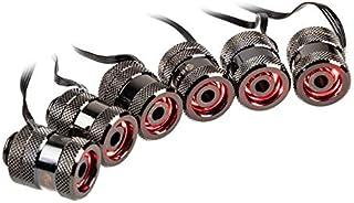 RAIJINTEK 0R40B00085 Pelias RGB-LED-Fittings, Color Negro