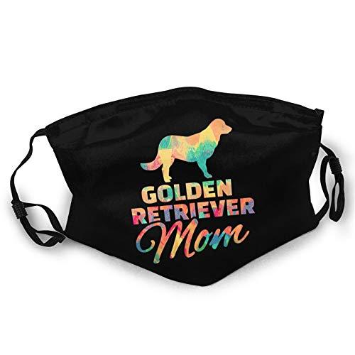 Golden Retriever Mom Neck Gaiter Face Mask for Women Men Reusable Breathable Bandana