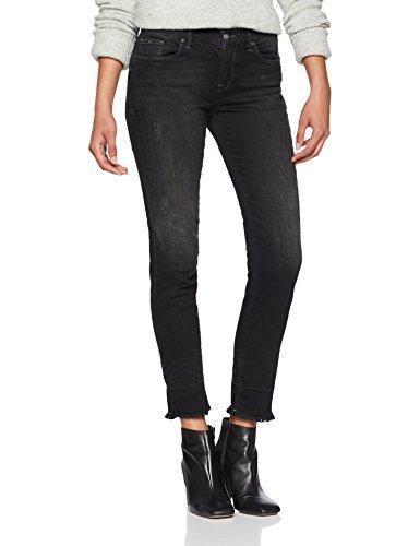 ONLY NOS Damen Onlsui Reg Slim Ank Dnm Jeans REA4495, Schwarz (Black Denim), W28/L32