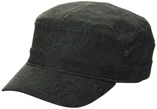 Buff Military Cap Kappe, Moss-Green, M/L