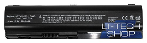 5200mAh Batería de Recambio Para HP COMPAQ PRESARIO CQ 61-410SL 5,2Ah de...