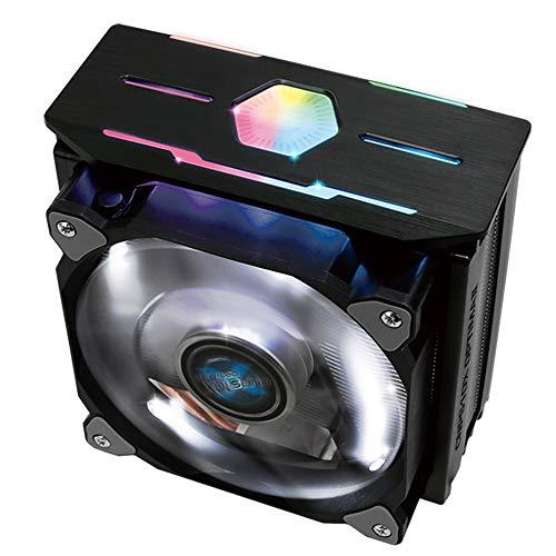 ZALMAN CNPS10X Optima II Negro, Intel 9ª generación, compatible con AMD Ryzen, efecto de iluminación LED Spectrum RGB, ventilador de doble hoja